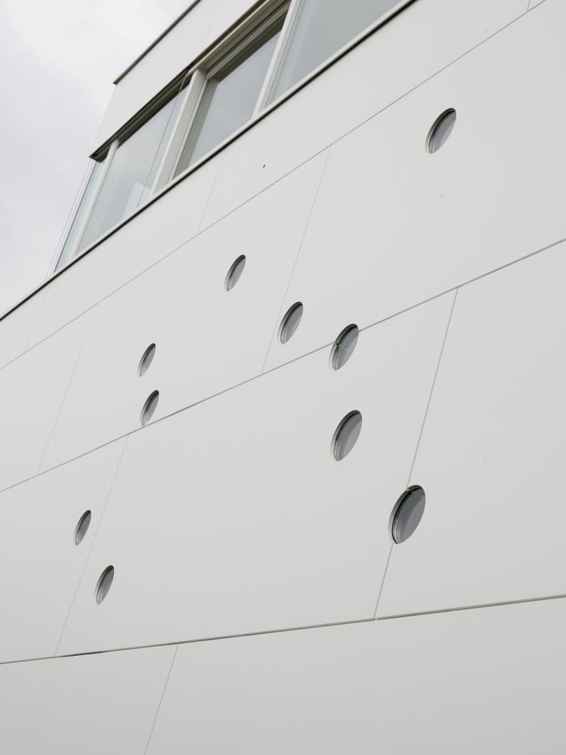 Fibrocementinės plokštelės fasadams